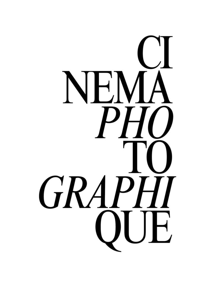 cinema photographique