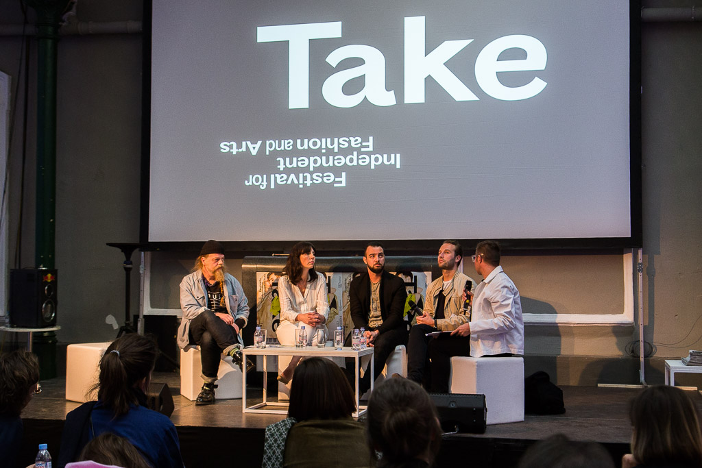 Take Festival Die Presse Schaufenster Talk