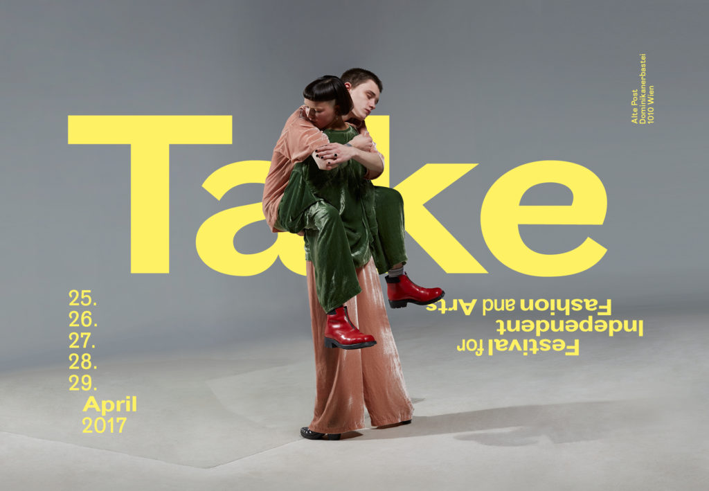 Kampagne Take Festival for Independent Fashion and Arts 2017