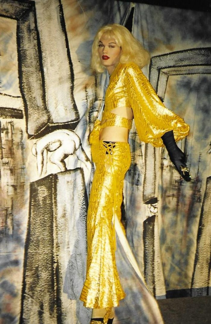 DRESS TO IMPRESS: 1993 Vienna LifeBall Thierry Mugler ©Dame Galaxis & Chantal St. Germain