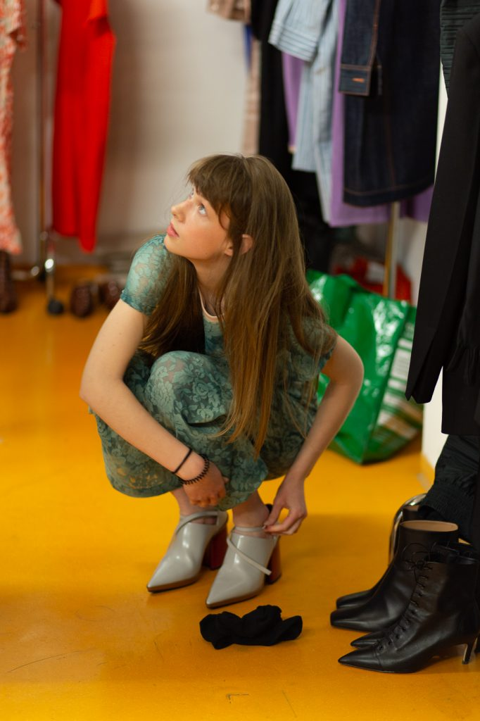 Backstage: departure fashion night ©Corinna Stabrawa